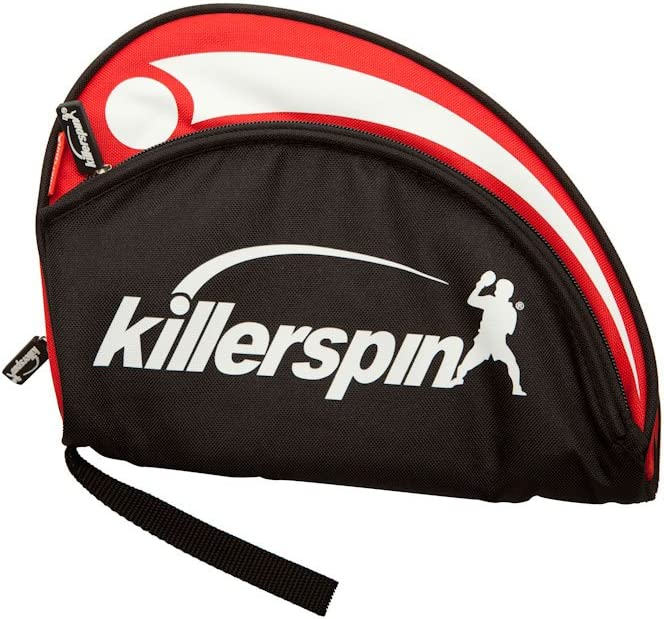 Killerspin Barracuda Ping Pong Paddle Carry Case  Padded Table Tennis Racket Cover  Reinforced Padded Polyester Bag for 2 Ping Pong Rackets, Side Accessory Pocket for Balls  Protective Zipper Enclosure : Table Tennis Cases : Sports & Outdoors