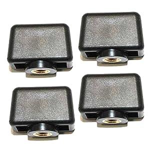 Dewalt DWX724/DWX723 Stand (4 Pack) Replacement Knob # N087378-4pk by BLACK+DECKER