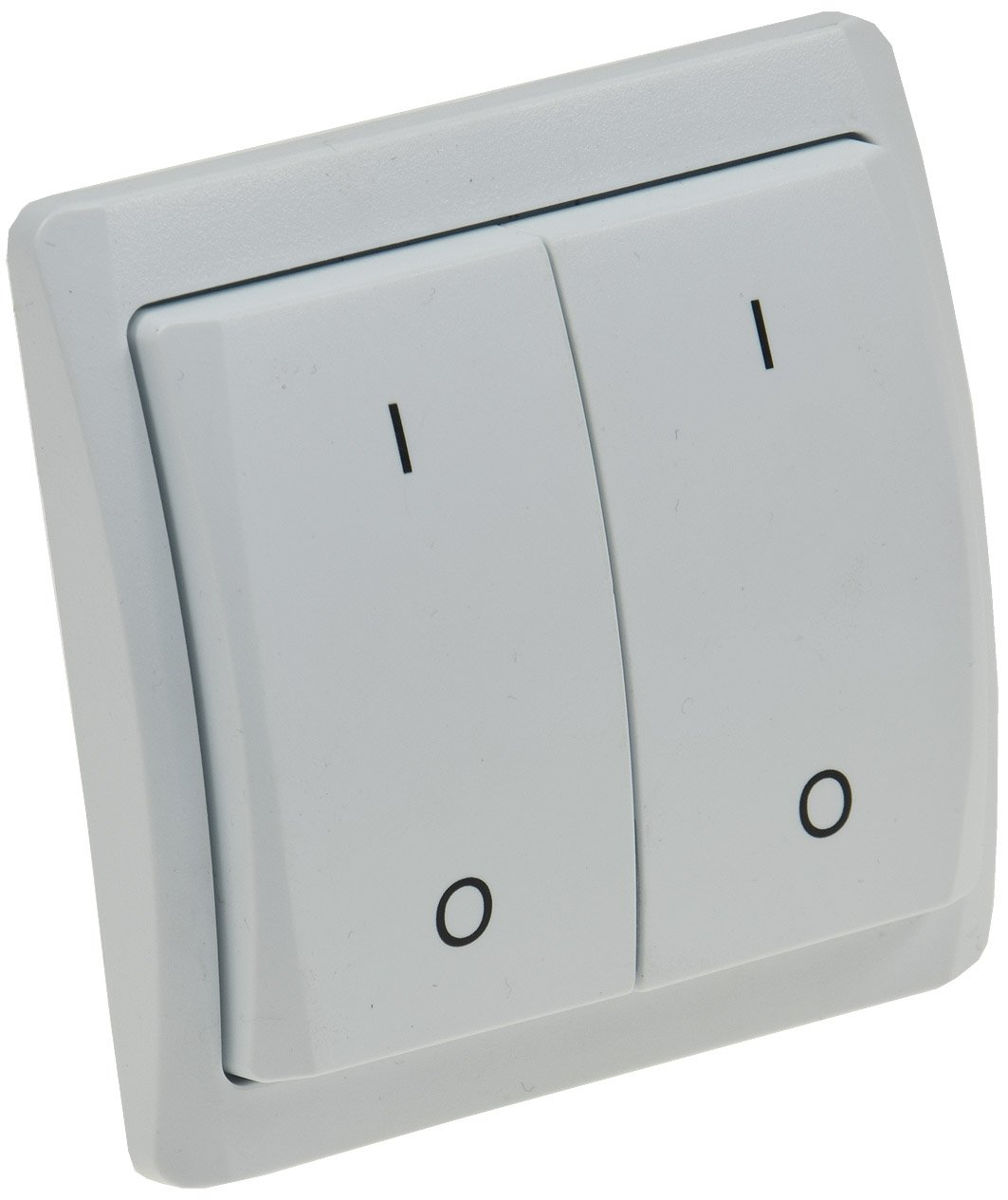 'Radio trasmettitore interruttore 2prese da parete Pilota casa AUFPUTZ 230V 70m portata Comfort Serie trasmettitore radio/controllo ChiliTec GmbH