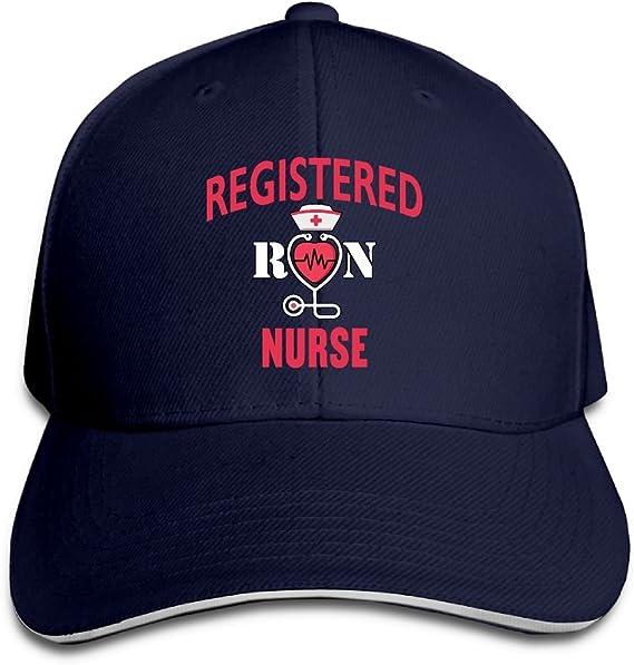 Registered Nurse 100/% Cotton Hat Men Women Adjustable Baseball Cap Hat RSUD WESR RN