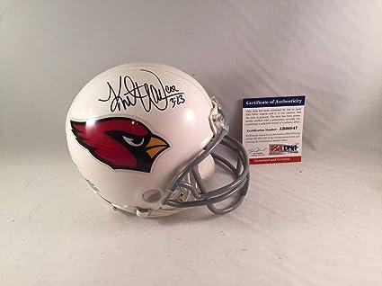 682ea15fcfb Kurt Warner Autographed Signed Arizona Cardinals Mini Helmet Memorabilia -  PSA DNA Authentic