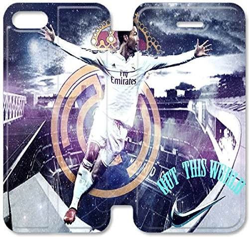 Coque iPhone 5C Coque Cuir, Klreng Walatina® PU Cuir de portefeuille Coque de protection pour Coque iPhone 5C Design By Ronaldo D4F7Yl