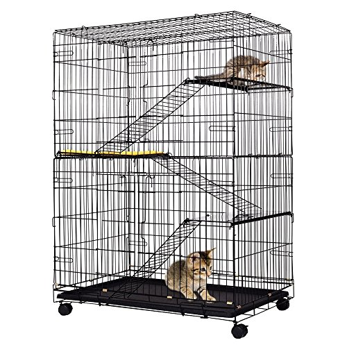 anumochi-cat-playpen-cage-3-climbing-ladders-3-rest-benches-cushion-4-tier