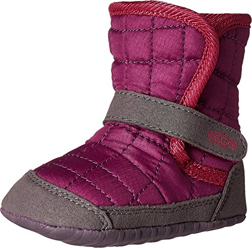 Keen Kids Baby Girl's Rover Crib (Infant) Purple Wine/Very Berry Boot 24 Months (24 Baby Footwear Boots)