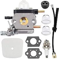 Savior C1U-K54A Carburetor Repower Kit for 2-Cycle Mantis 7222 7222E 7222M 7225 7230 7234 7240 7920 7924 Tiller…