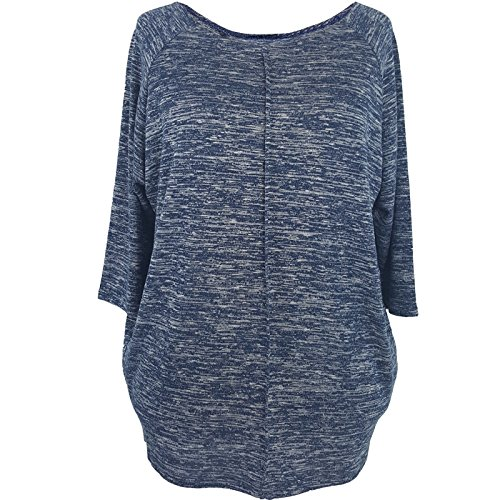 LAfashion - Camisas - para mujer multicolor Blue & White