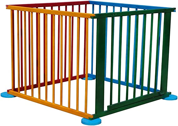 OGALBE Parque de juegos infantil para bebés plegable corralito ...