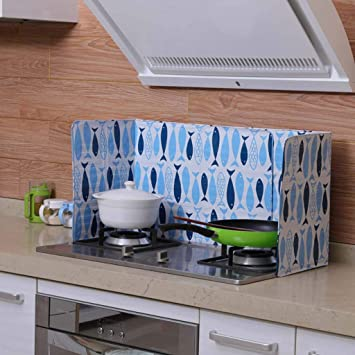 Amazon.com: Protector de salpicaduras de aceite para cocina ...