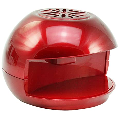 COM-FOUR® Secador de uñas para en el camino, funciona con batería,