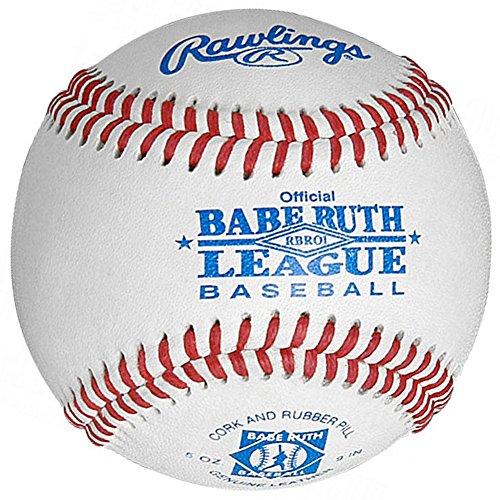 Rawlings Babe Ruth League Baseball (Dozen) White