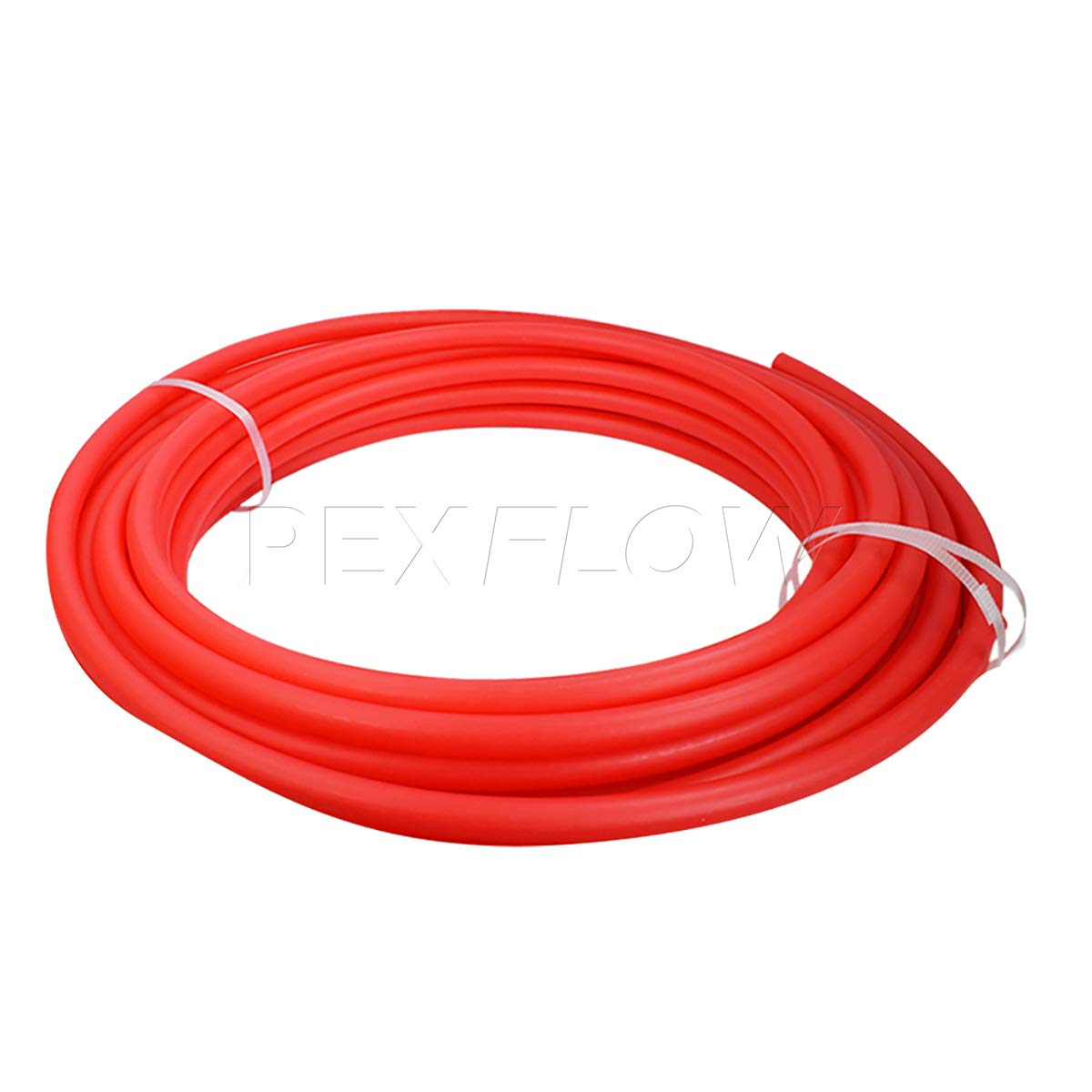 Pexflow PFR-R1100 Oxygen Barrier PEX Tubing for Hydronic Radiant Floor Heating Systems, 1 Inch x 100 Feet, Red