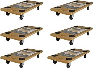 Rollbrett Kunststoff M Roller Transporthilfe Wagen Transportbrett