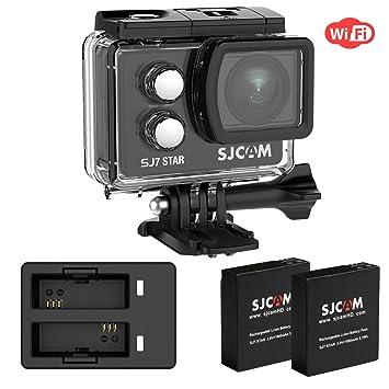 "Cámara de acción WiFi 4K SJCAM SJ7 STAR Ambarella Chipset 30 fps Sony Sensor 12M 2"""
