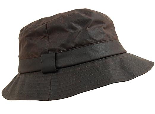 B26 Wax Cotton Bucket Sun Hat  Amazon.co.uk  Clothing 9495c4239aa