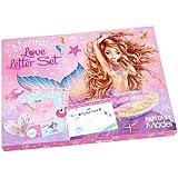 Depesche 10473 Love Letterset, Fantasy Model Mermaid met veel accessoires om te knutselen, kleurrijk