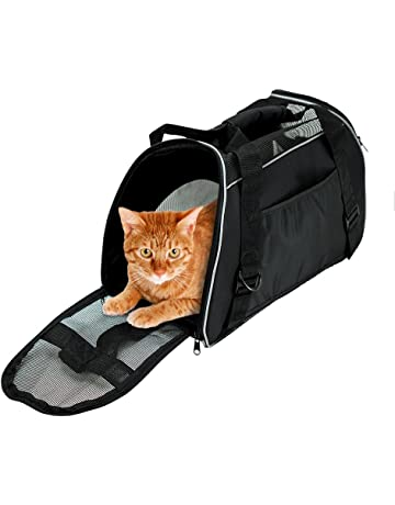 36da9e4e43 Bencmate Soft Sided Pet Carrier ,Airline Approved Pet Travel Bags for Cats  and Dogs