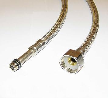 Generic QY-UK4-16FEB-20-707 * 1**3093** Cocina grifo mezclador 500 mm Un par de 10 mm x 10 mm x 500 mm lavabo de Basi manguera flexible tuberías e tubos ...