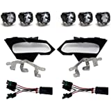 Baja Designs Compatible With Can-Am X3 S1 Spot W/C Headlight Kit 447074