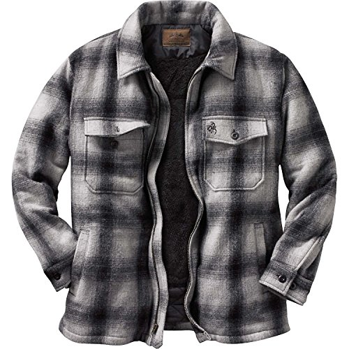 Legendary Whitetails Men's The Outdoorsman Buffalo Jacket Ombre Plaid X-Large