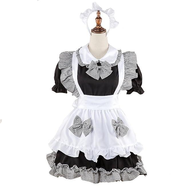 Amazon.com: QIANDING shengdan Maid Wear Maid Wear Western ...