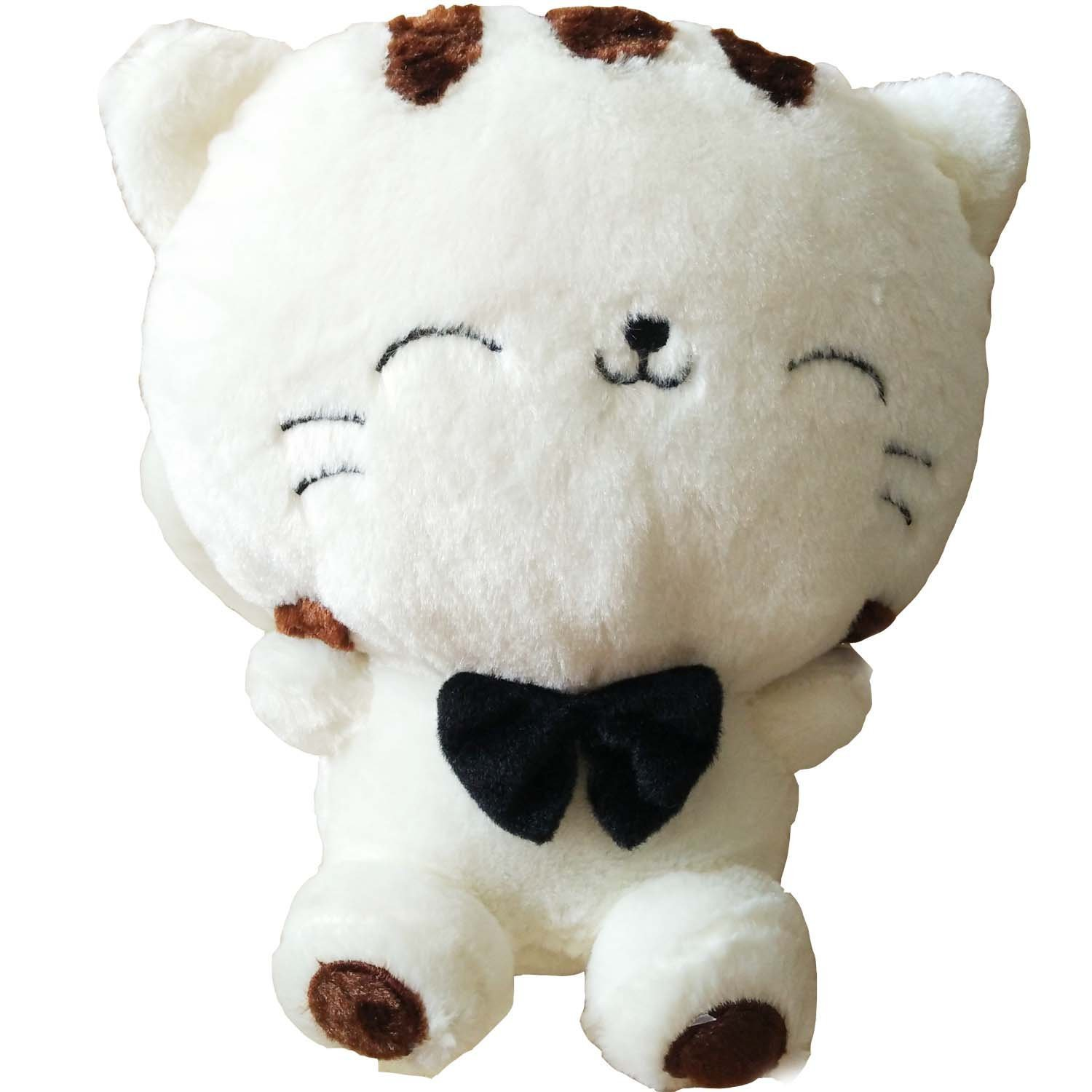 "18"" 45Cm Include Tail Cute Plush Stuffed Toys Cushion Fortune Cat Doll High 1.. 8"