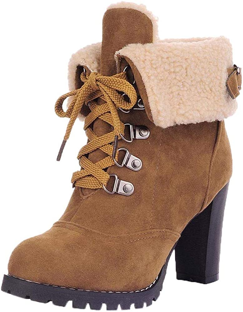 Thick Short Boots Clearance Sale