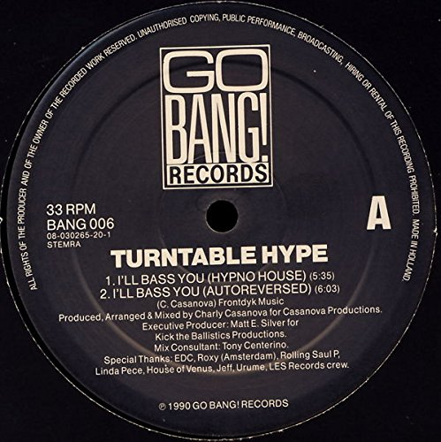 hype turntable - 9