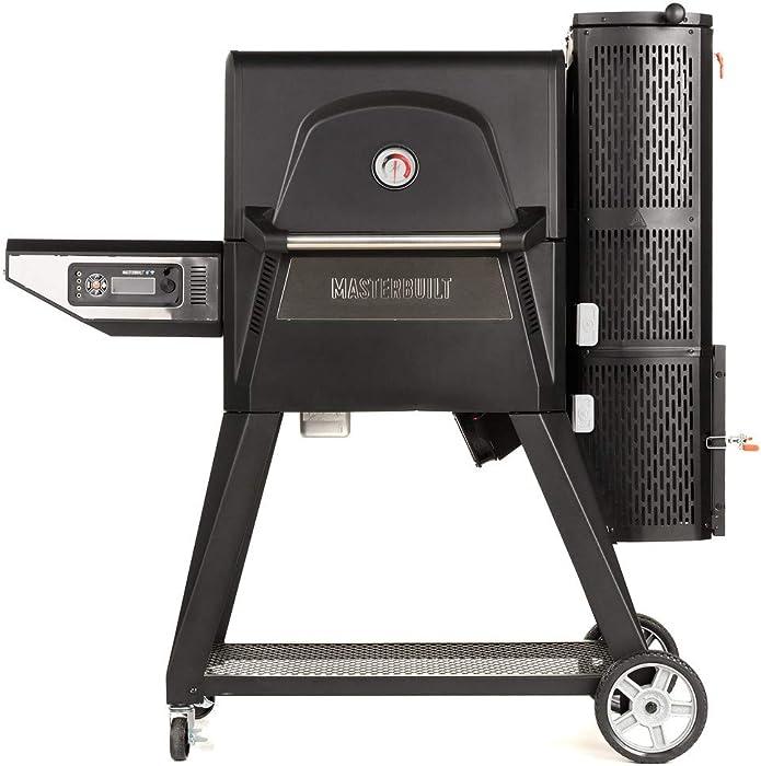 Masterbuilt MB20040220 Gravity Series 560 Charcoal Grill + Smoker, Black