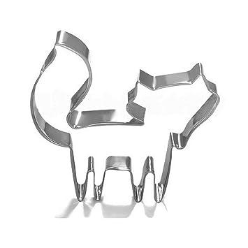 VWH Emporte Piece Patisserie Decoupoir en Forme de Renard Decoupoir  Patisserie Ustensiles Pour Decoration de Gateaux