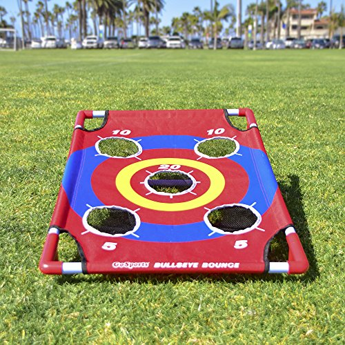 61uX0rOI4IL - GoSports Bullseye Bounce Cornhole Toss Game - Great for All Ages & Includes Fun Rules