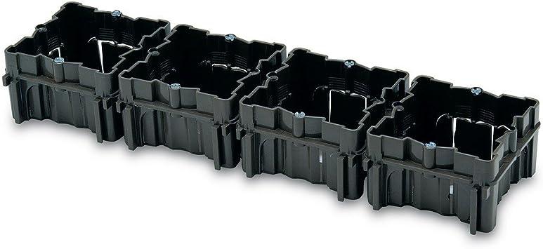 FAMATEL 3102.1 - Caja empotrar 66x66 universal unitaria: Amazon.es ...