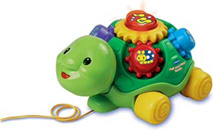 Amazon.com: VTech Pull y Play tortuga: Toys & Games