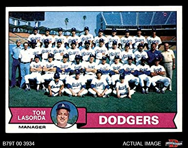 Amazoncom 1979 Topps 526 Dodgers Team Checklist Tommy
