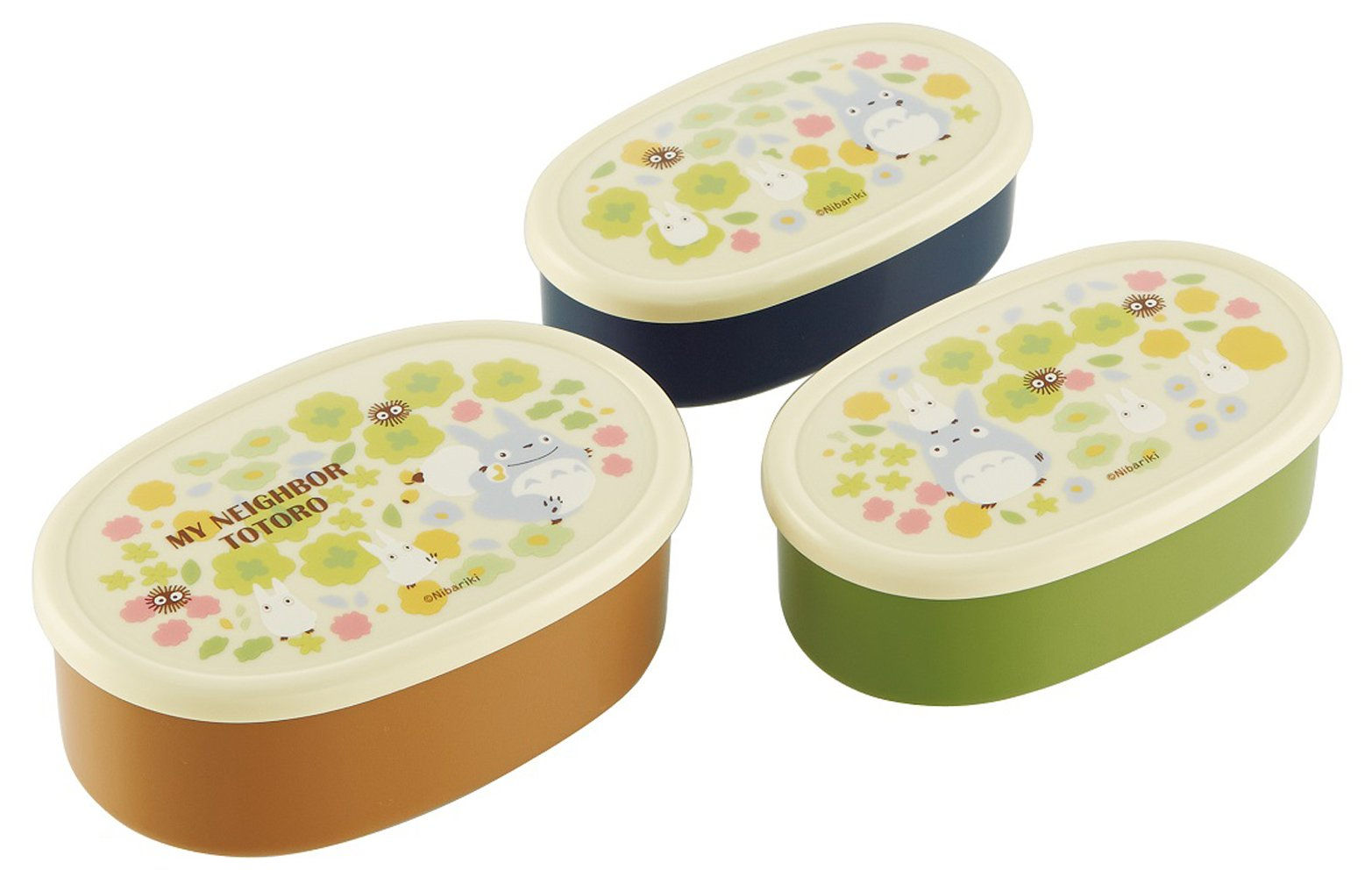 Totoro Design 3 Pieces Nesting Food Storage Boxes Set by Totoro