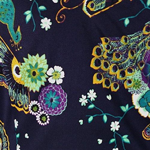 Danse Jours Bleu Paon Vintage 1950s Retro Pinup Robe Crayon Cocktail Fête