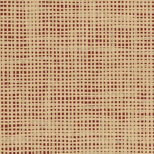 DecoratorsBest Weave Natural With Red Background Wallpaper (Wallpaper Weave)