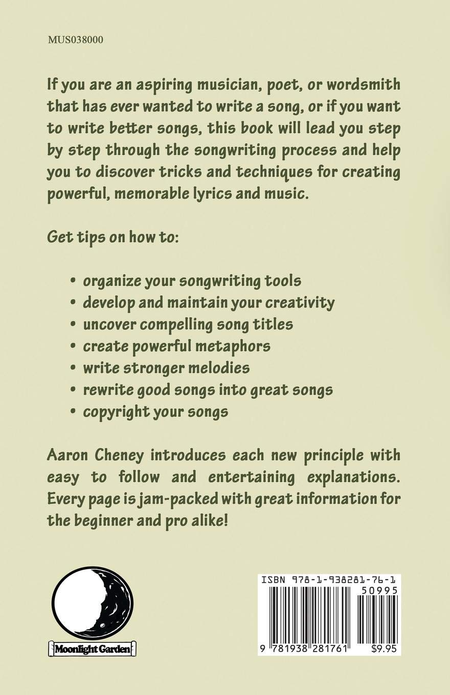 Songwriting Step by Step: Amazon.co.uk: Aaron Cheney, S. C. Moore:  9781938281761: Books