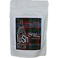 Lush Wine Mix - Organic Mix for Mulled Wine & Simple Syrup Cocktails (Spiced Wine, 1-Pack)