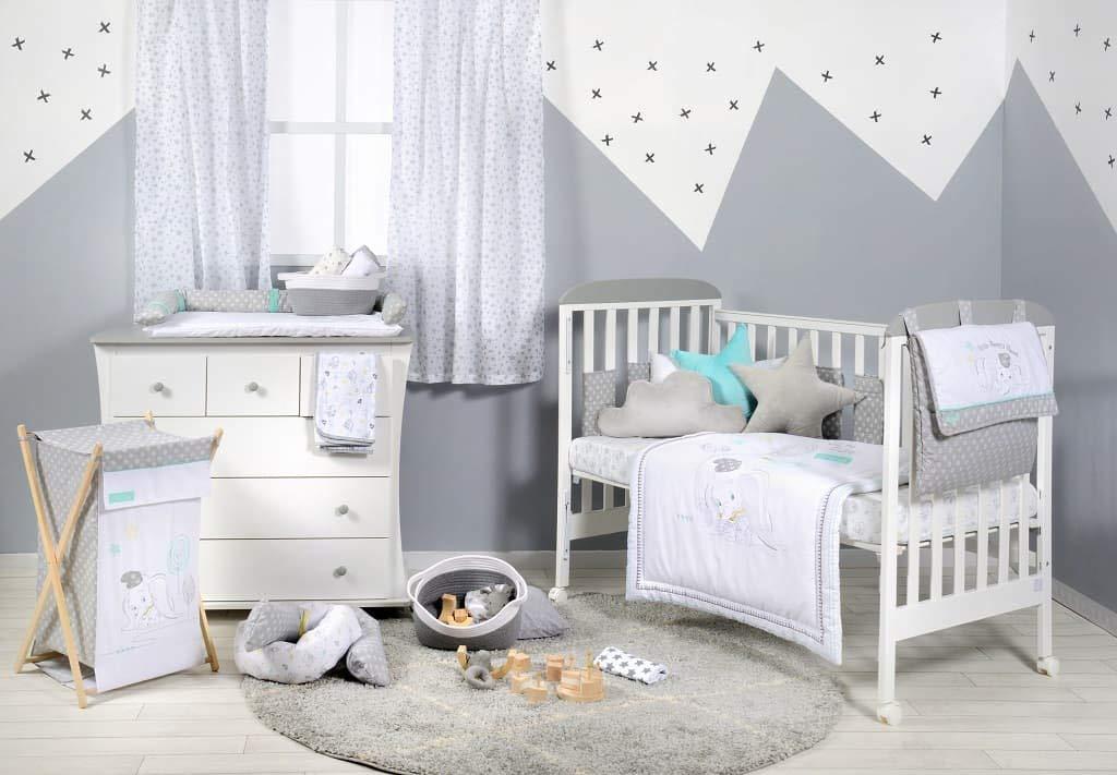 Disney Baby Dumbo Dream Big Crib ropa de cama por Baby Bedding Design