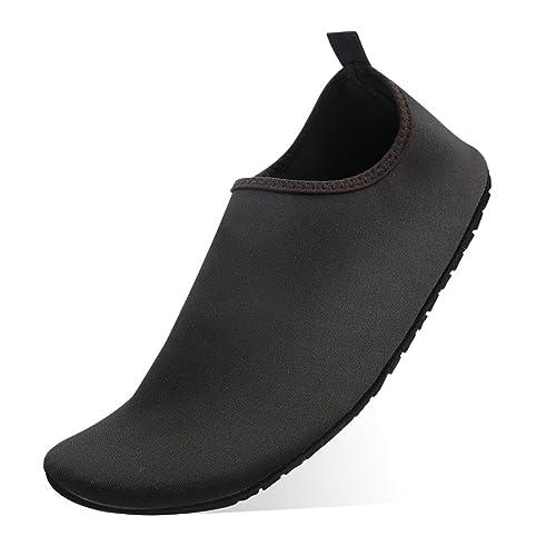 Zapatos de Agua QIMAOO Zapatos de Playa Escarpines Piscina Calzado de Playa Surf Yoga Deportes AcuáTico para Hombre Mujer: Amazon.es: Zapatos y complementos
