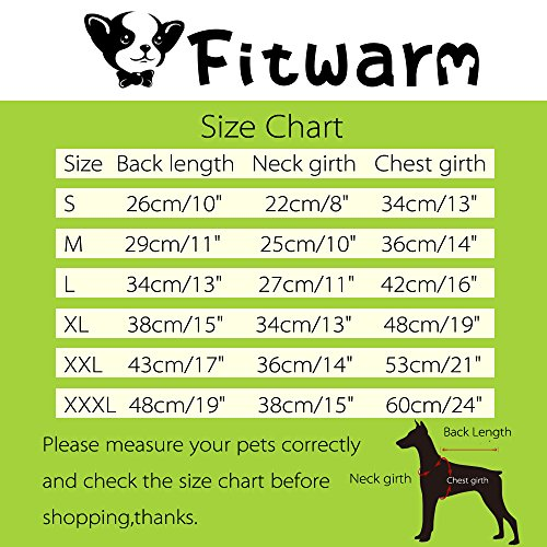 Fitwarm Pet Wedding Clothes Formal Tuxedo White Shirts for Dog with Bow tie White XL by Fitwarm (Image #7)