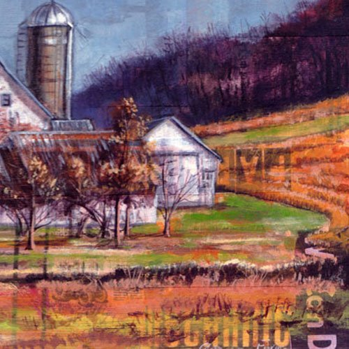 Farmer in the Dell--Reproduction of an Amelia Furman Mixed Media original painting 71e-8DwTcRL