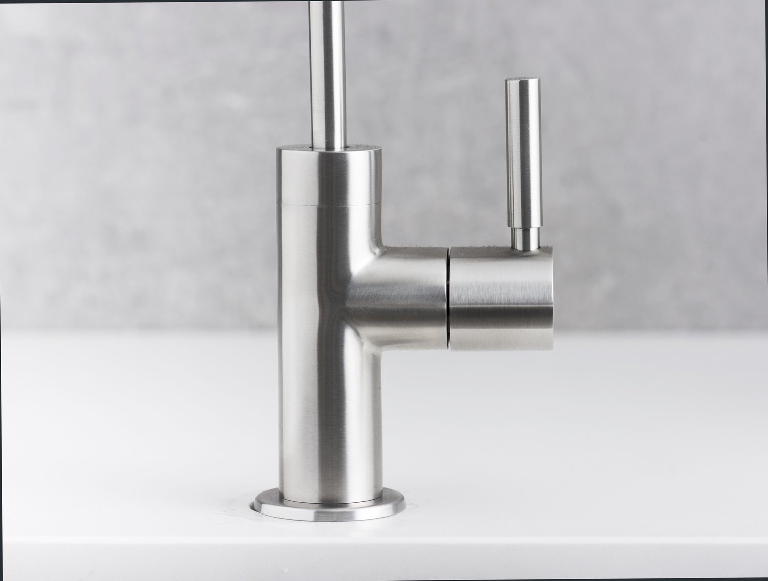 DAX Drinking Water Filter, Stainless Steel Body Faucet