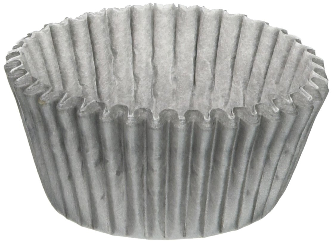 Oasis Supply 500 Count Baking Cups, Mini, Silver