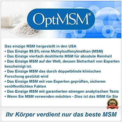 Kala Health - OptiMSM® (Methylsulfonylmethan) grobes Pulver