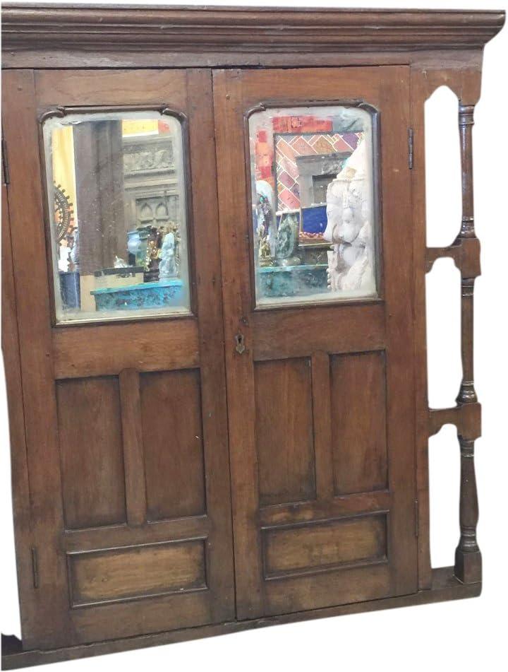 Mogul Jharokha - Espejo de Ventana para Interior, Estilo rústico ...