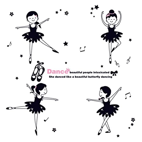 Danza Ballet Girls Kindergarten Aula Personajes de dibujos ...