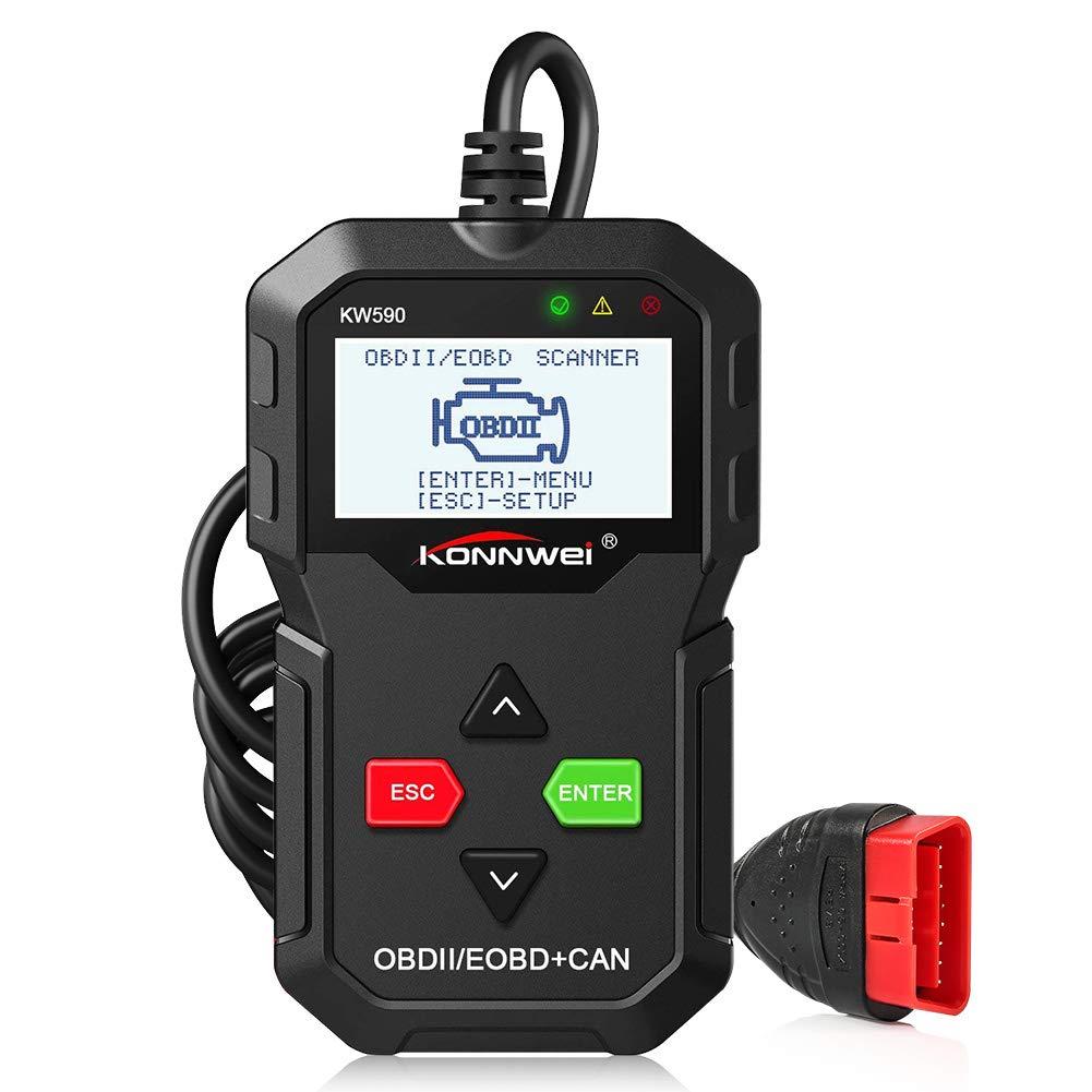 EOBD Handscanner f/ür Alle OBDII Protokoll Benzin Auto Fahrzeuge nach 1996 ZOTO OBD2 Diagnoseger/ät