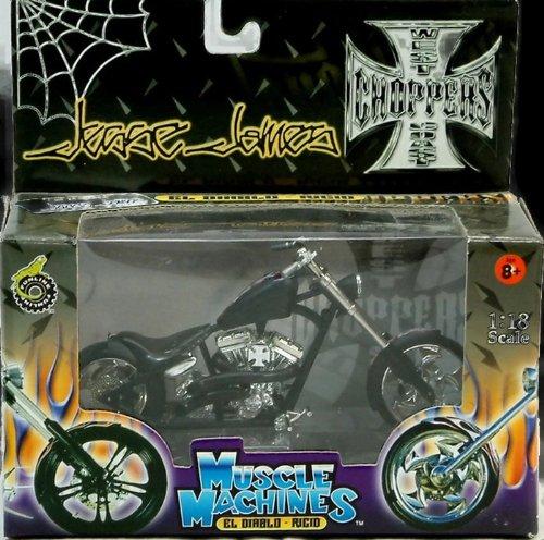 Diablo Chopper (Muscle Machines Jesse James West Coast Choppers
