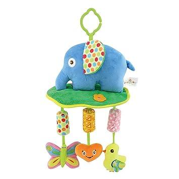 f00700356 ... del Cochecito y Silla de Paseo Cama Colgando Cuna Sonajero Musical  Peluche Diseño Animados para bebé y niños(Elefante): Amazon.es: Juguetes y  juegos